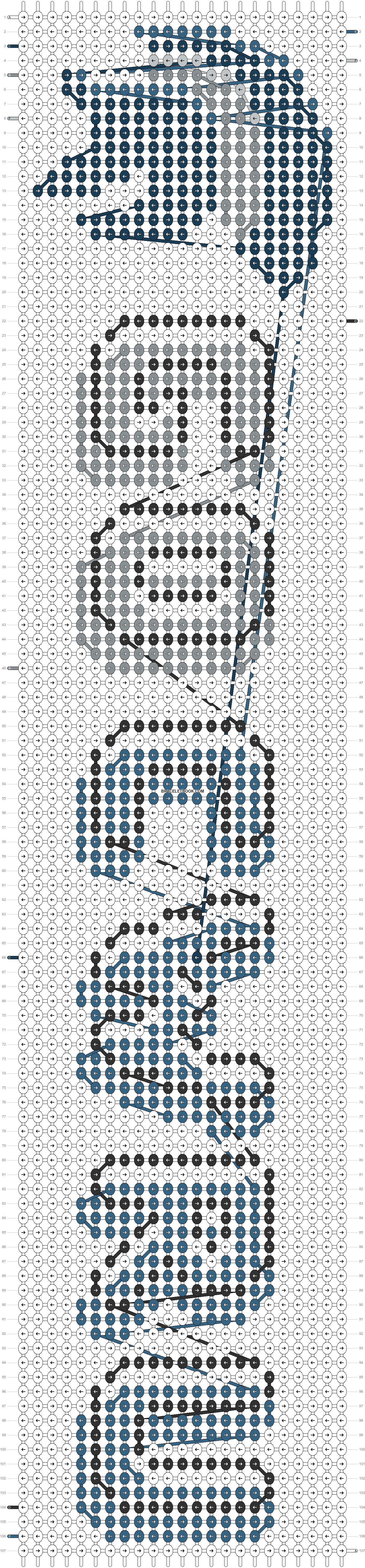 Alpha pattern #94464 pattern