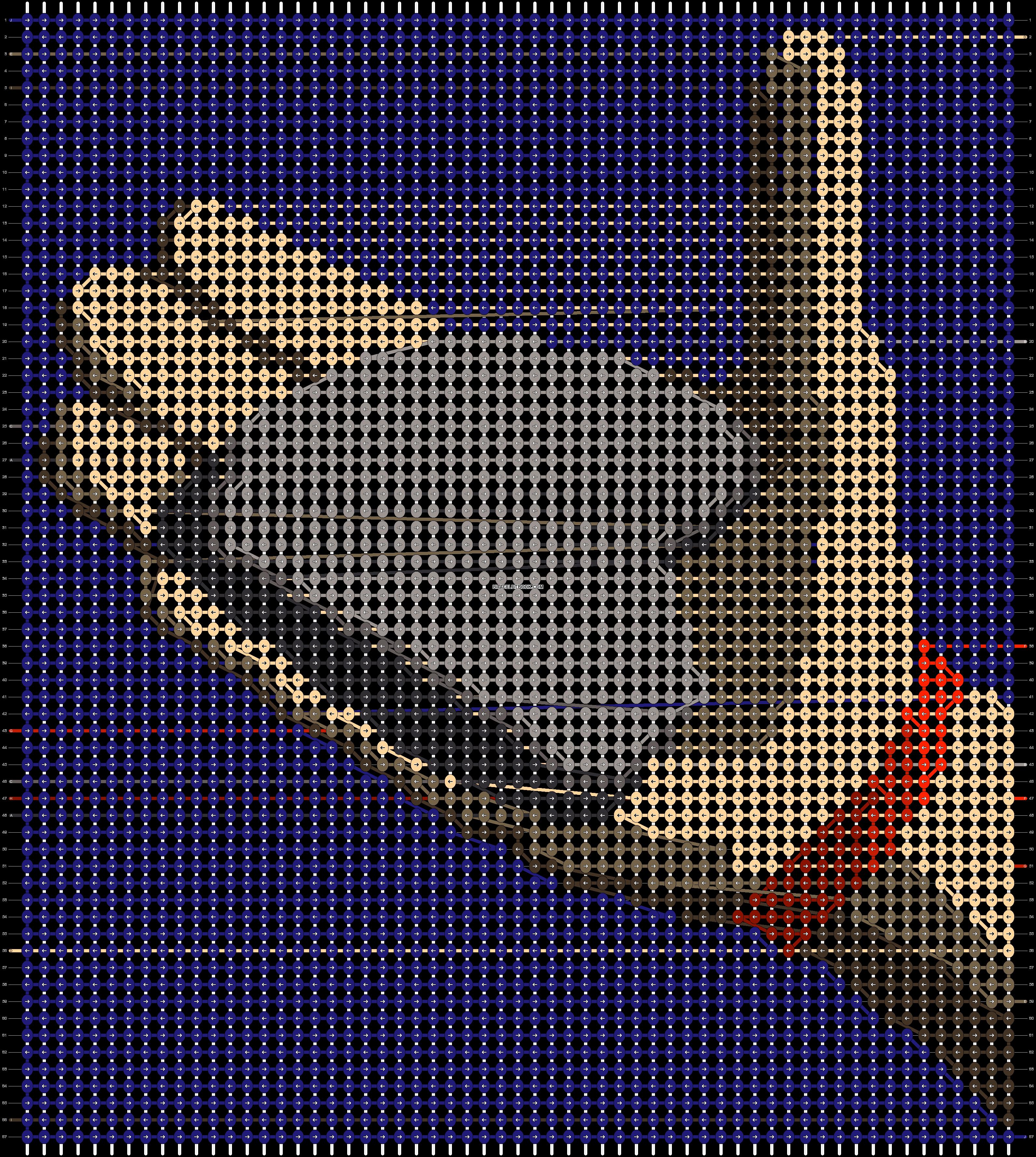 Alpha pattern #94465 pattern