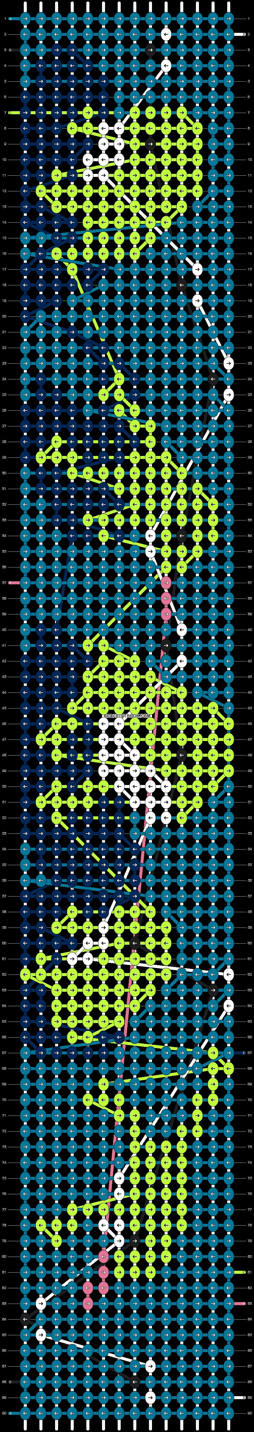 Alpha pattern #94491 pattern