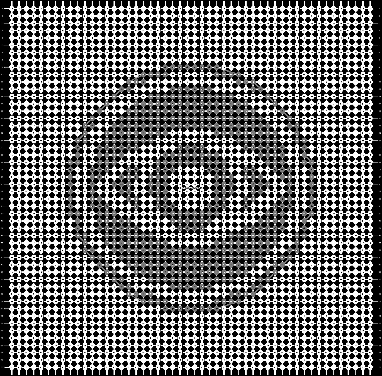 Alpha pattern #94502 pattern