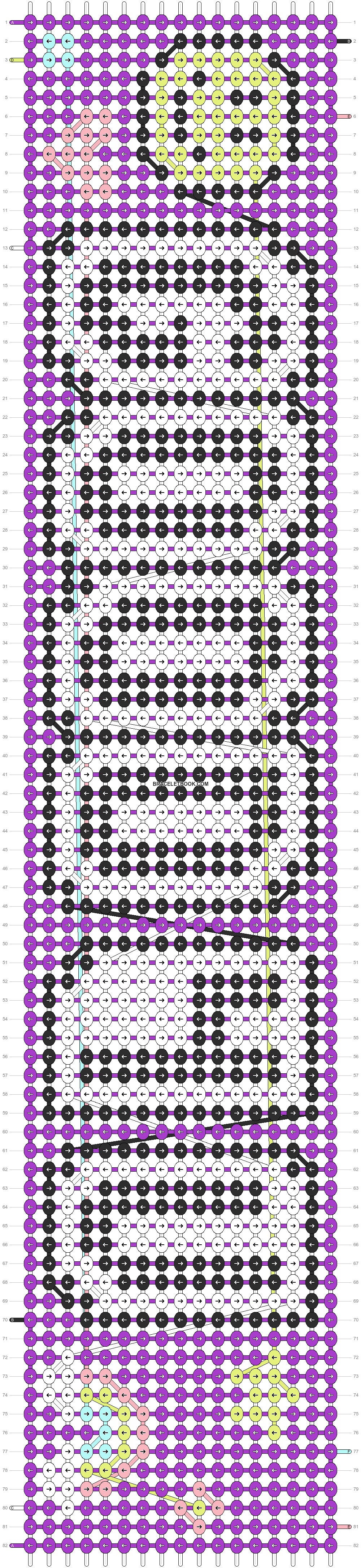Alpha pattern #94503 pattern