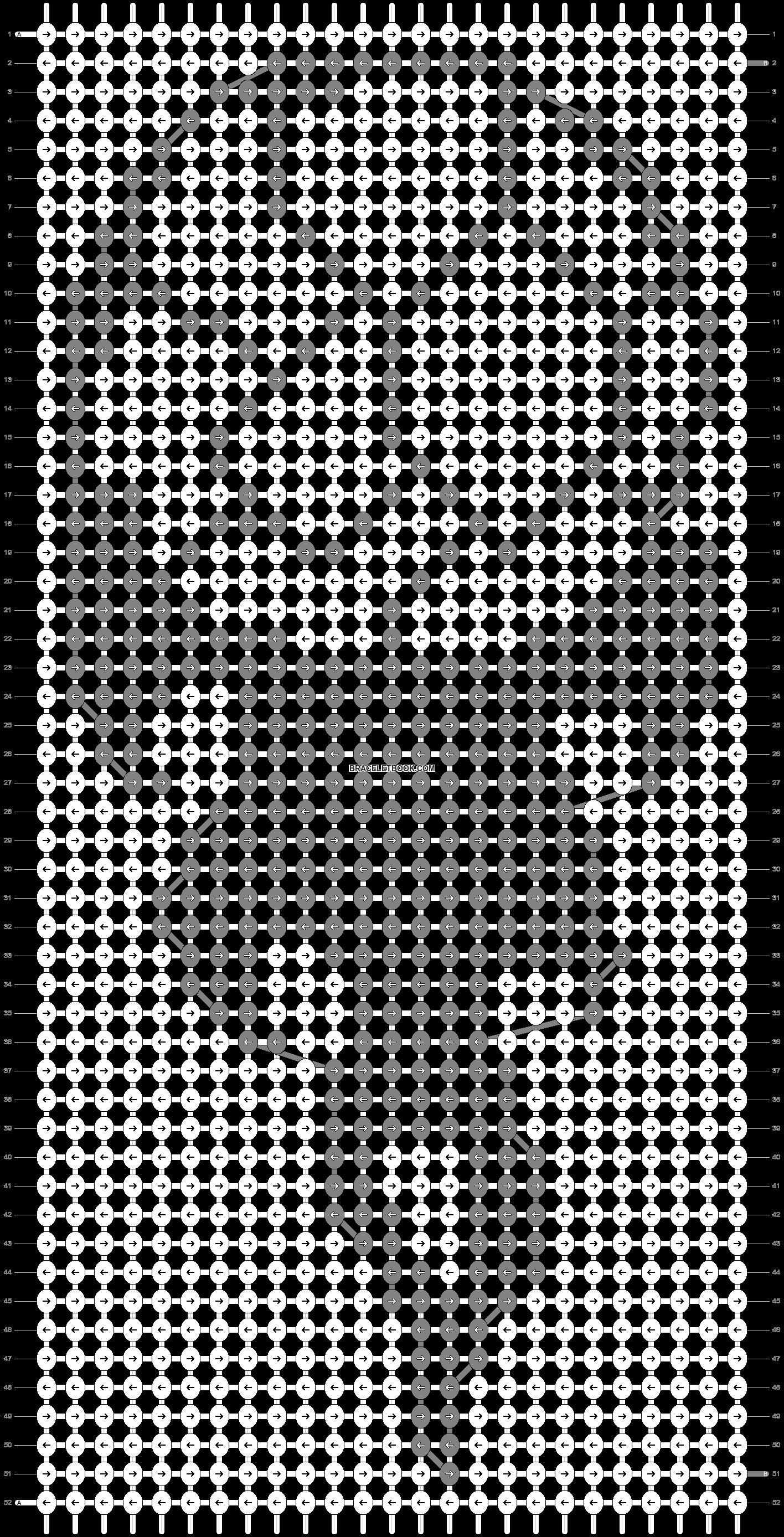 Alpha pattern #94563 pattern