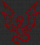 Alpha pattern #94633