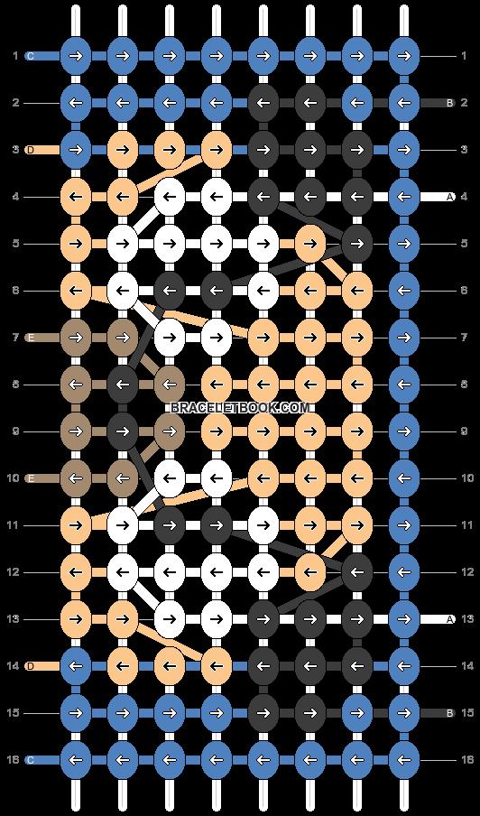 Alpha pattern #94675 pattern