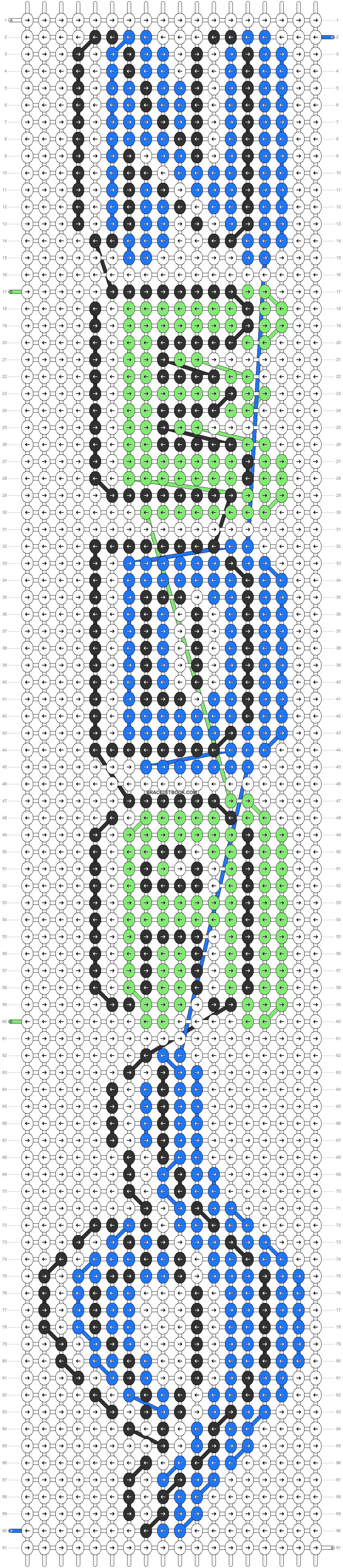 Alpha pattern #94679 pattern