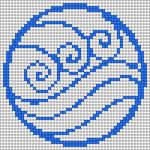 Alpha pattern #94737