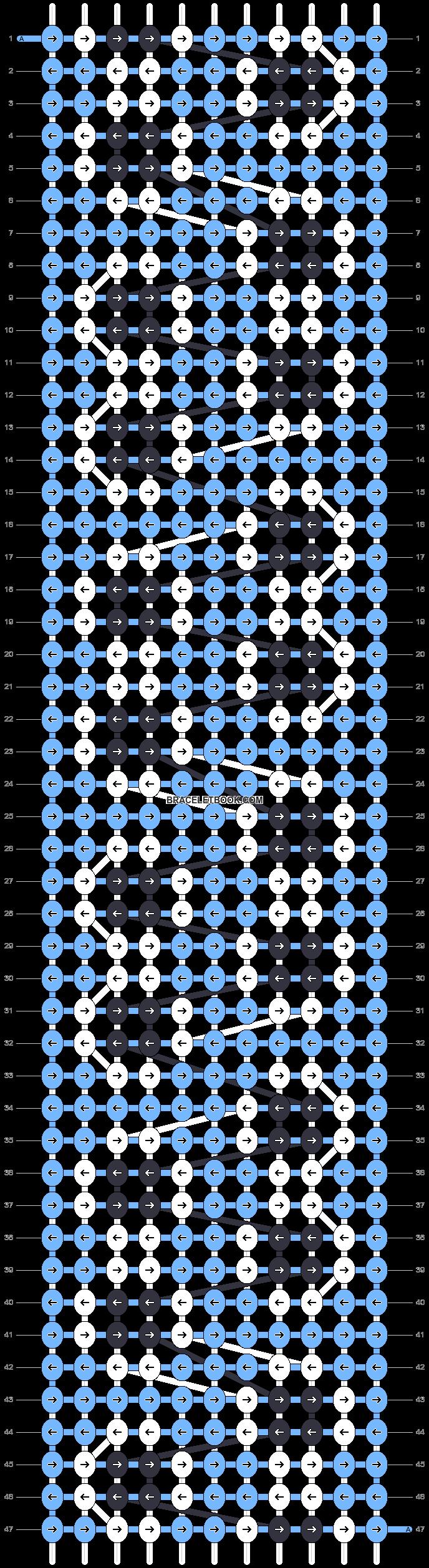 Alpha pattern #94829 pattern