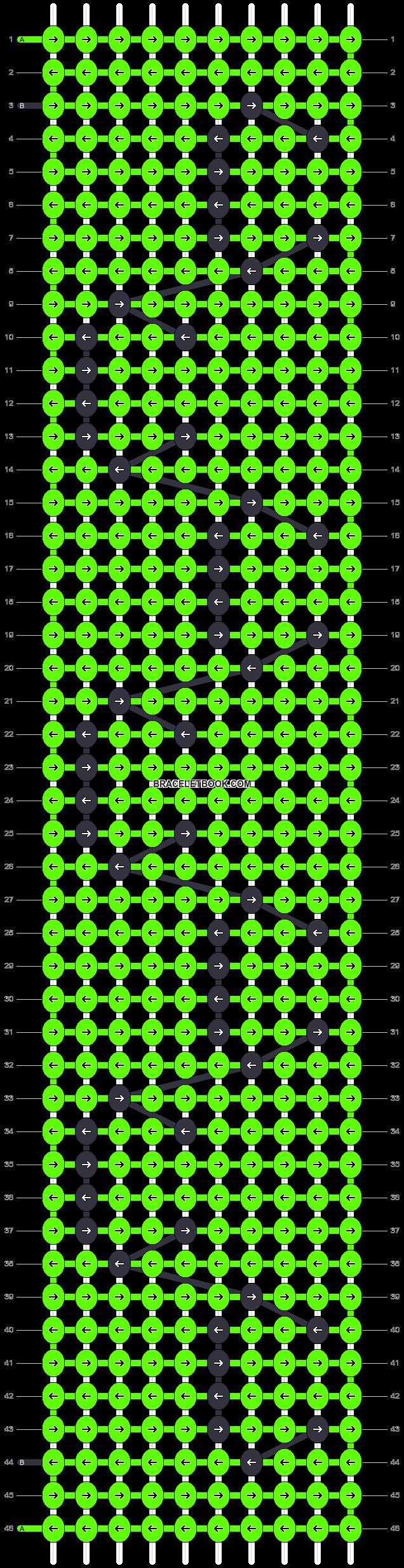 Alpha pattern #94830 pattern