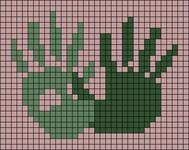 Alpha pattern #94893