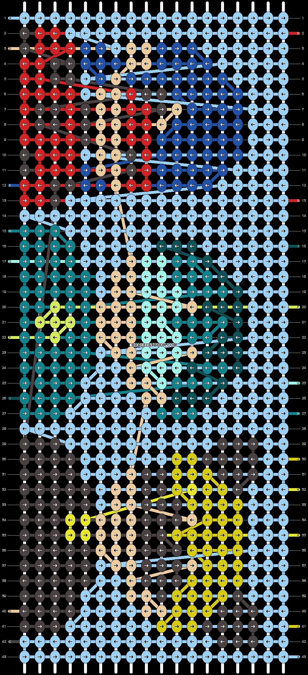 Alpha pattern #94983 pattern