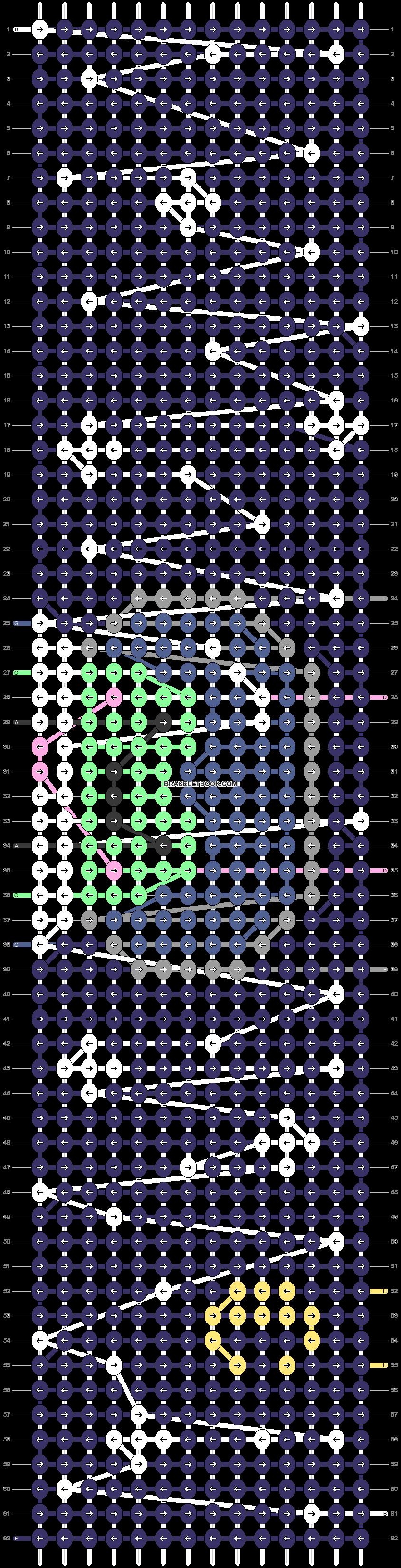 Alpha pattern #95042 pattern