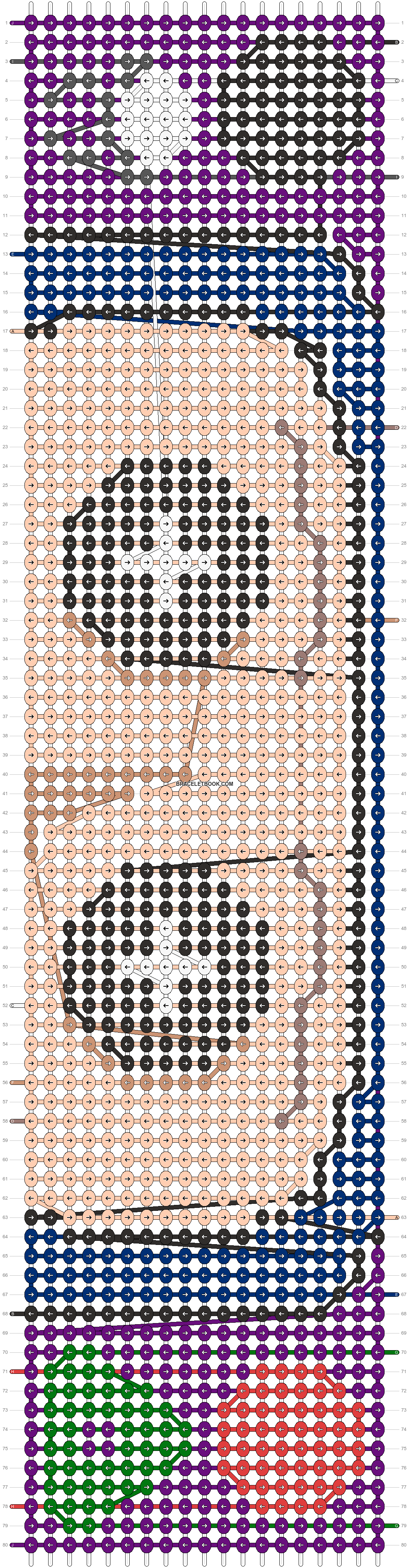Alpha pattern #95046 pattern
