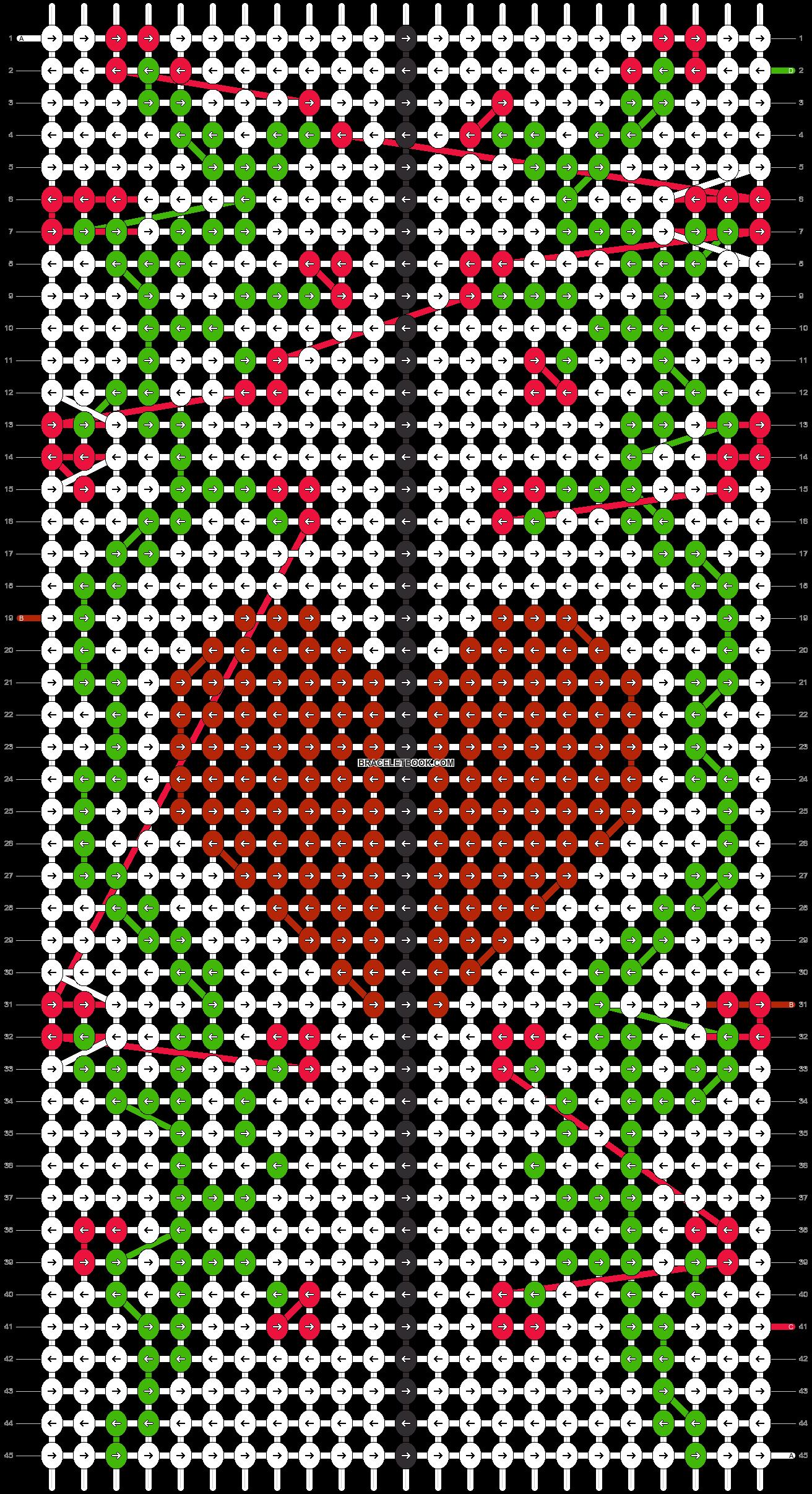 Alpha pattern #95054 pattern