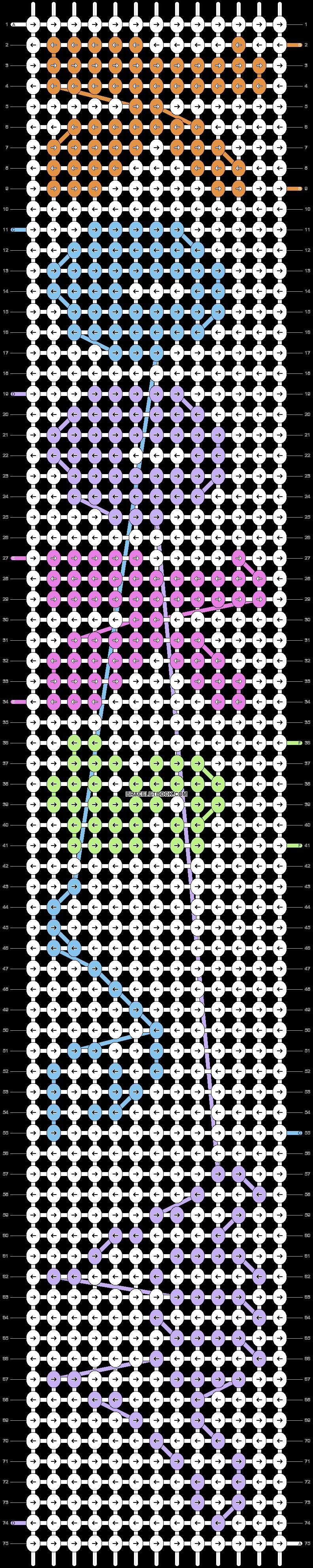 Alpha pattern #95064 pattern