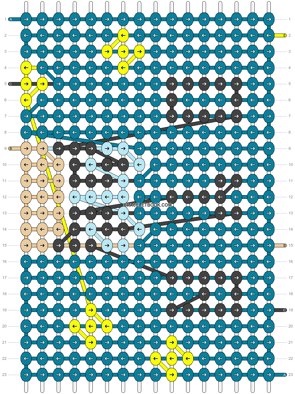 Alpha pattern #95073 pattern