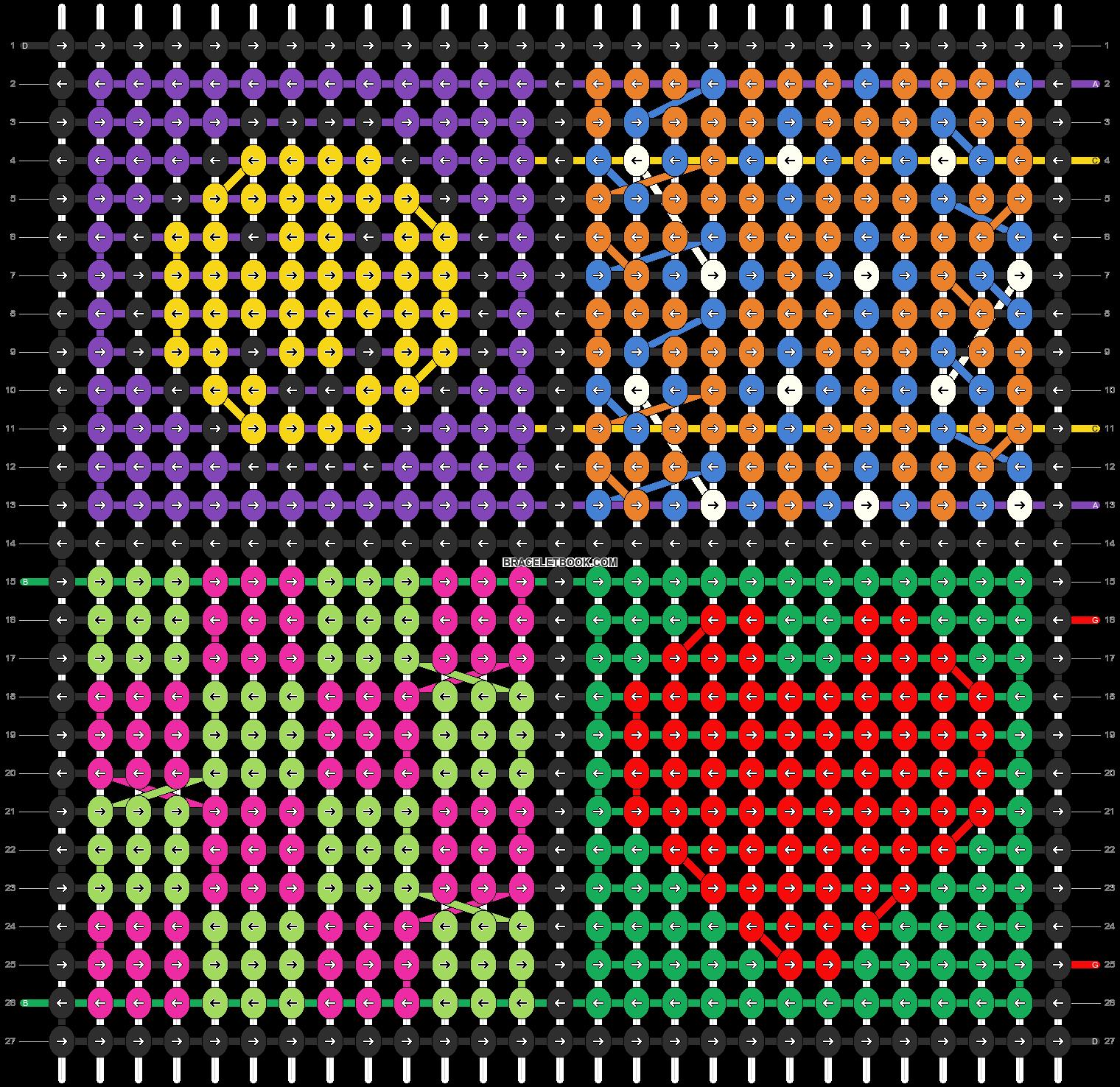 Alpha pattern #95094 pattern