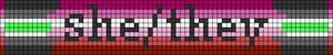 Alpha pattern #95123