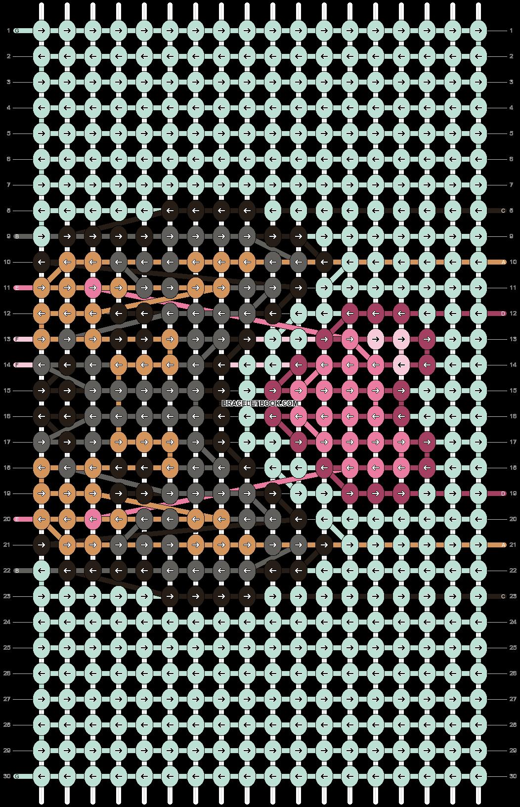 Alpha pattern #95159 pattern