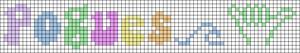 Alpha pattern #95163