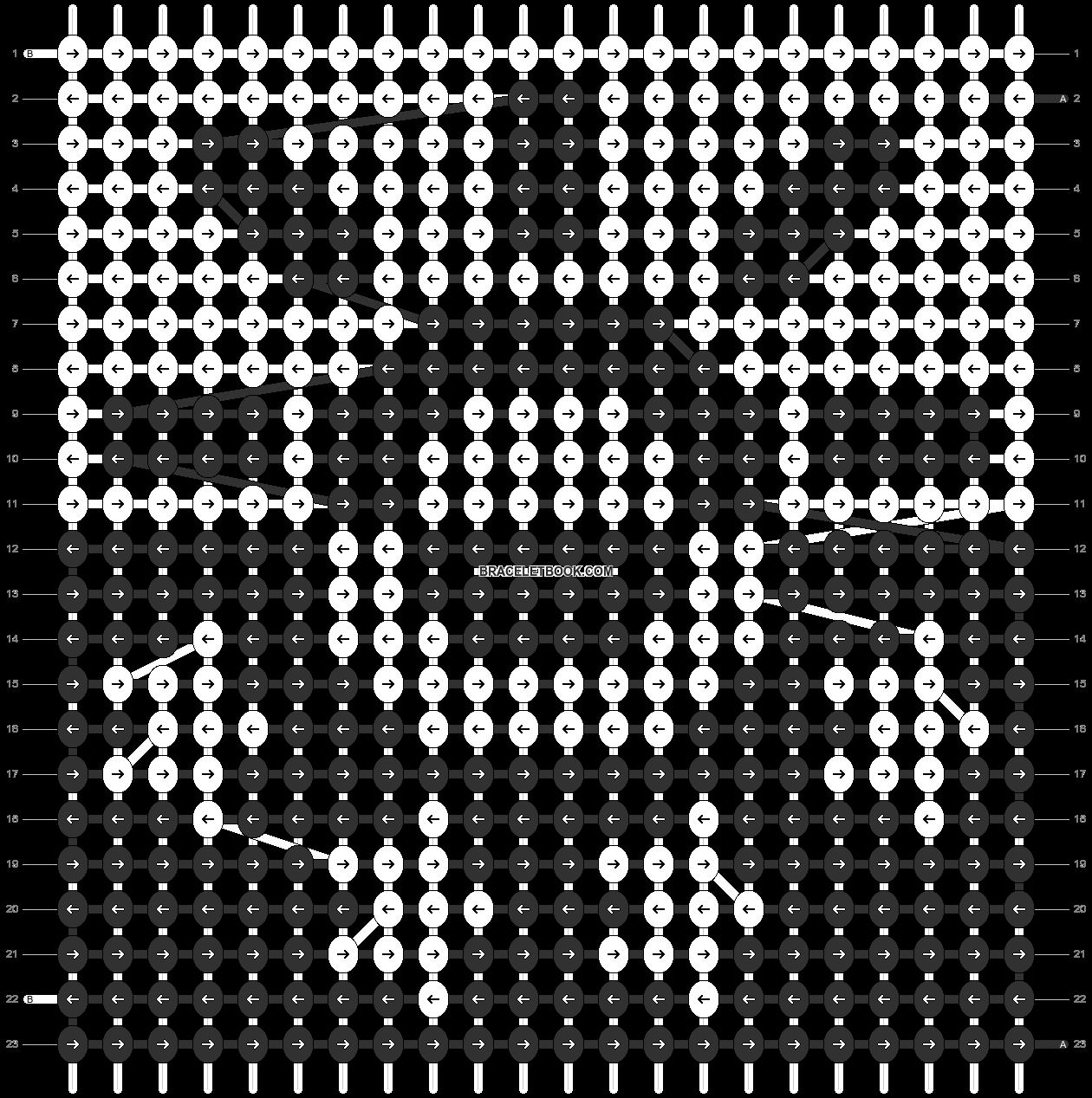 Alpha pattern #95169 pattern