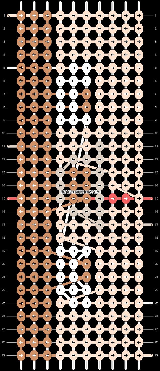 Alpha pattern #95210 pattern