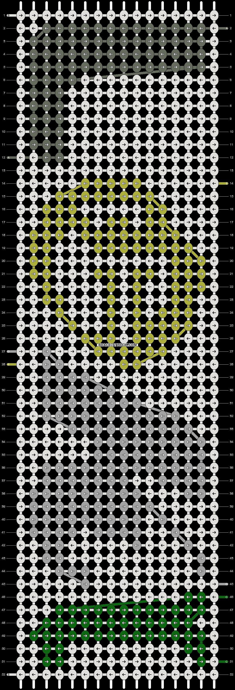 Alpha pattern #95215 pattern