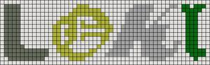 Alpha pattern #95215