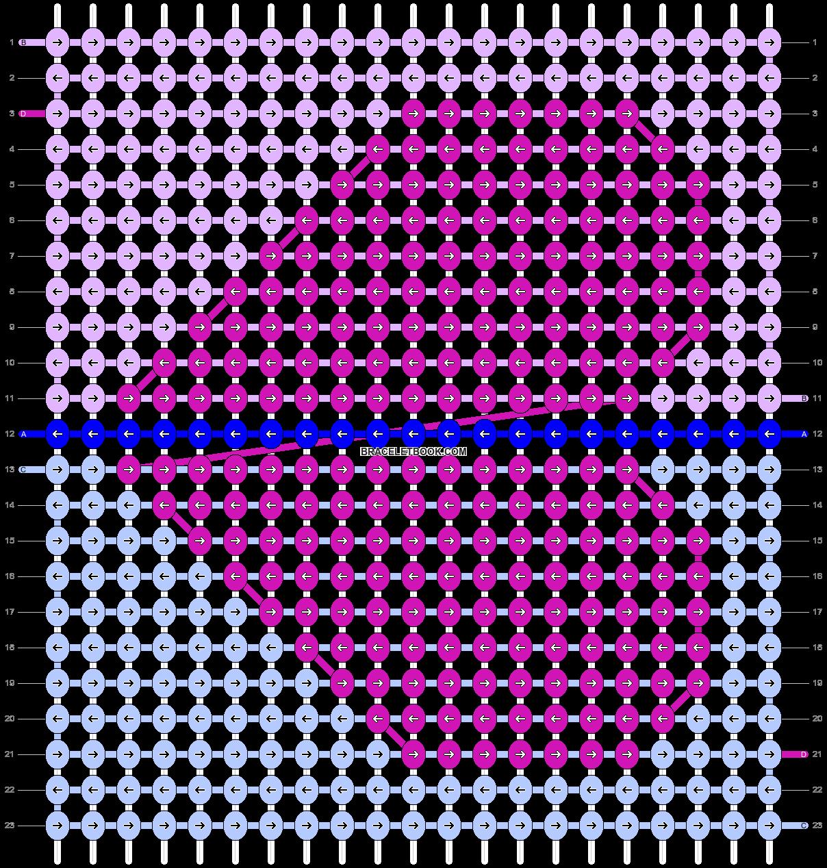 Alpha pattern #95232 pattern