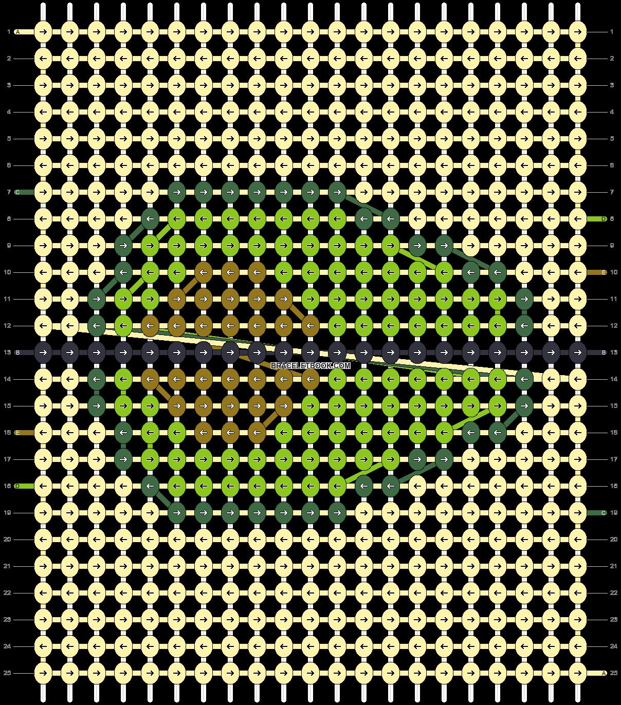 Alpha pattern #95234 pattern