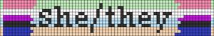Alpha pattern #95236