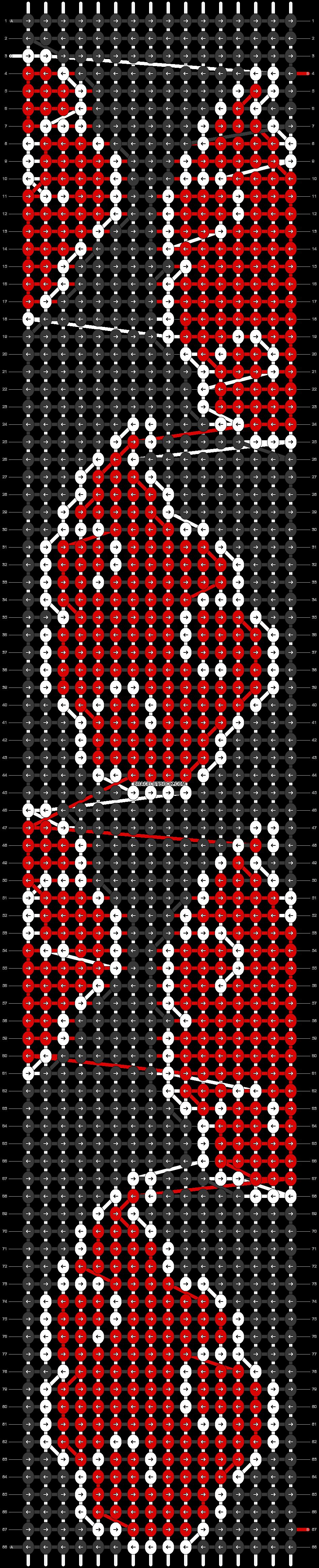 Alpha pattern #95273 pattern