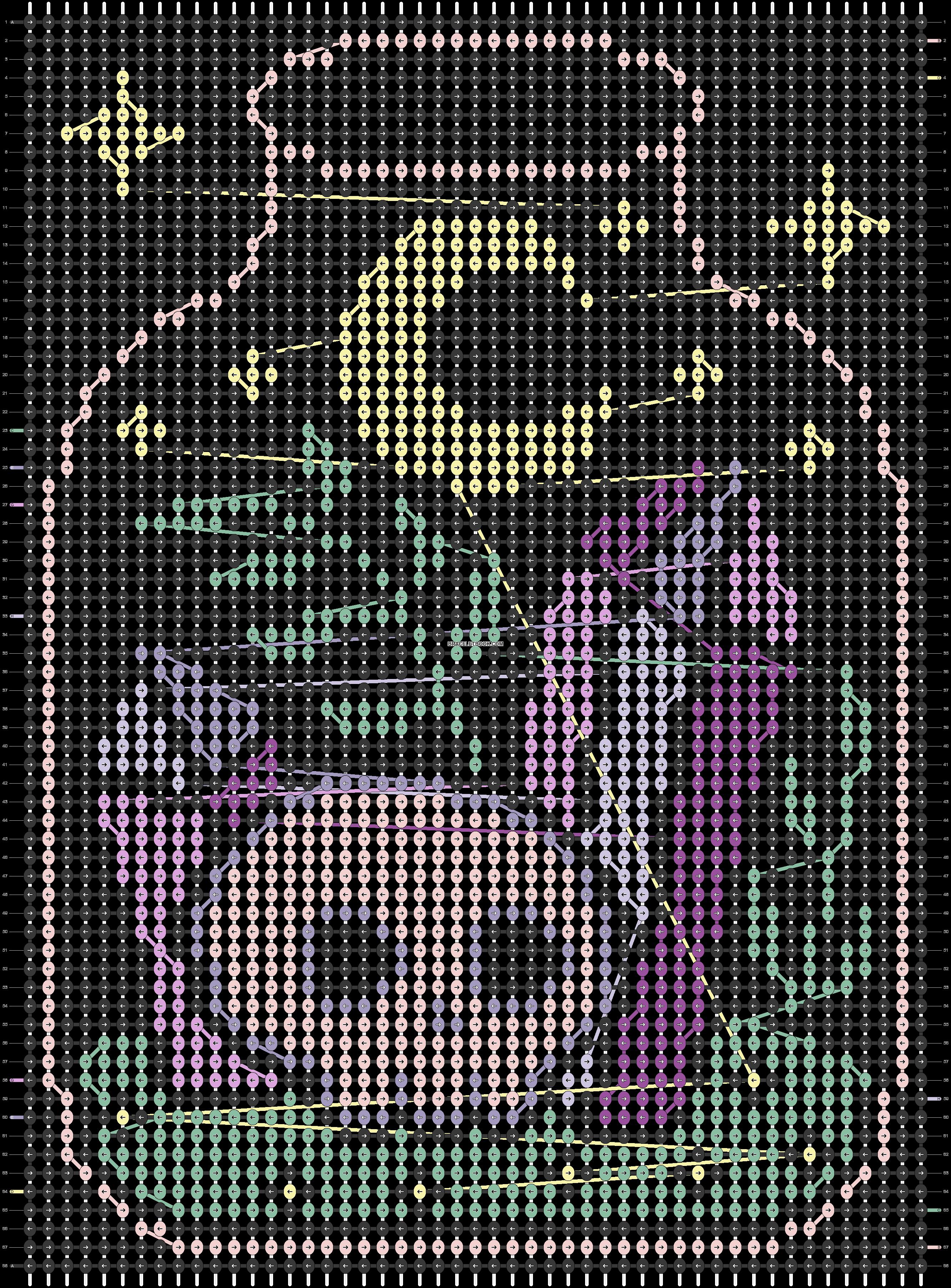 Alpha pattern #95282 pattern