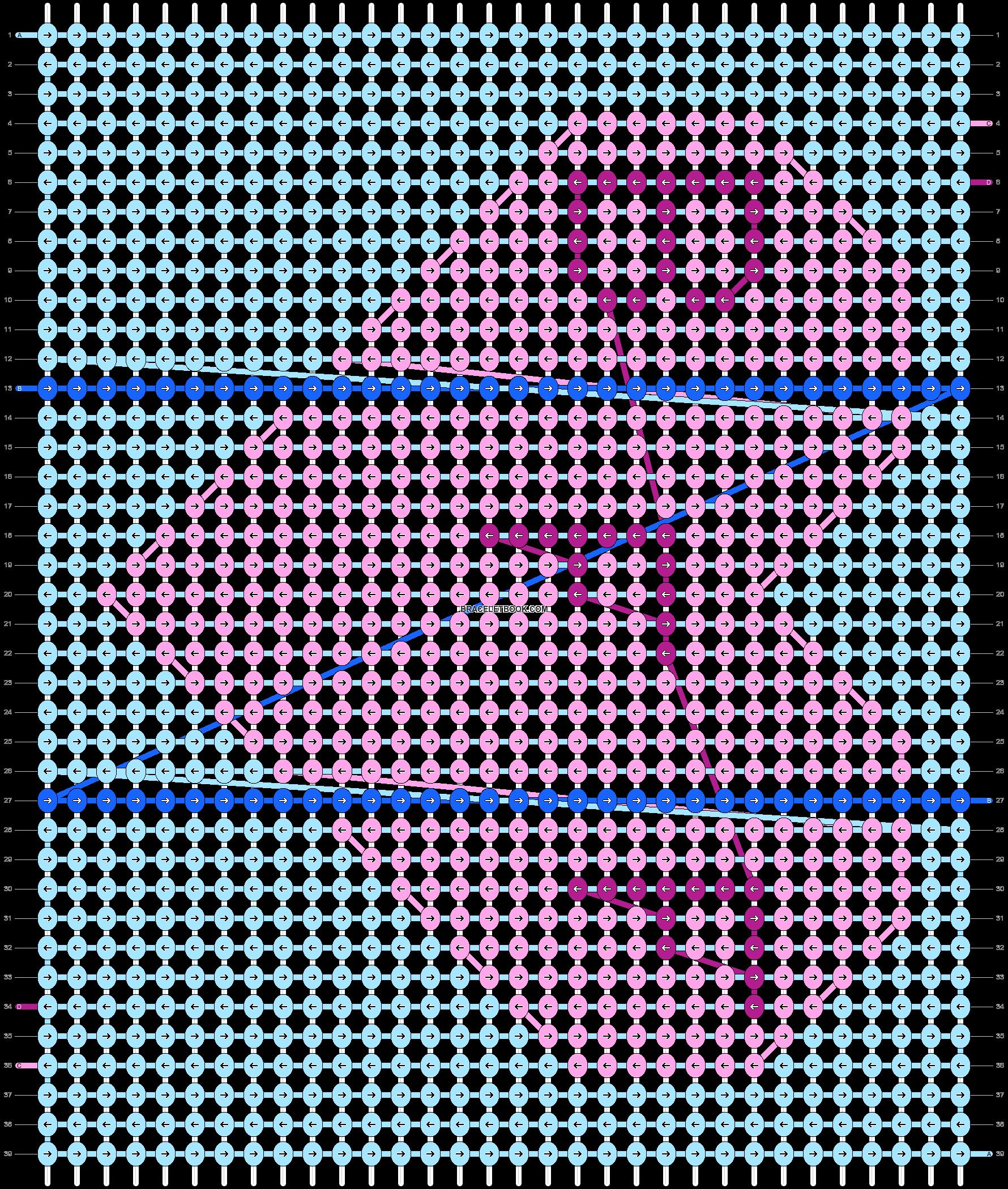 Alpha pattern #95284 pattern