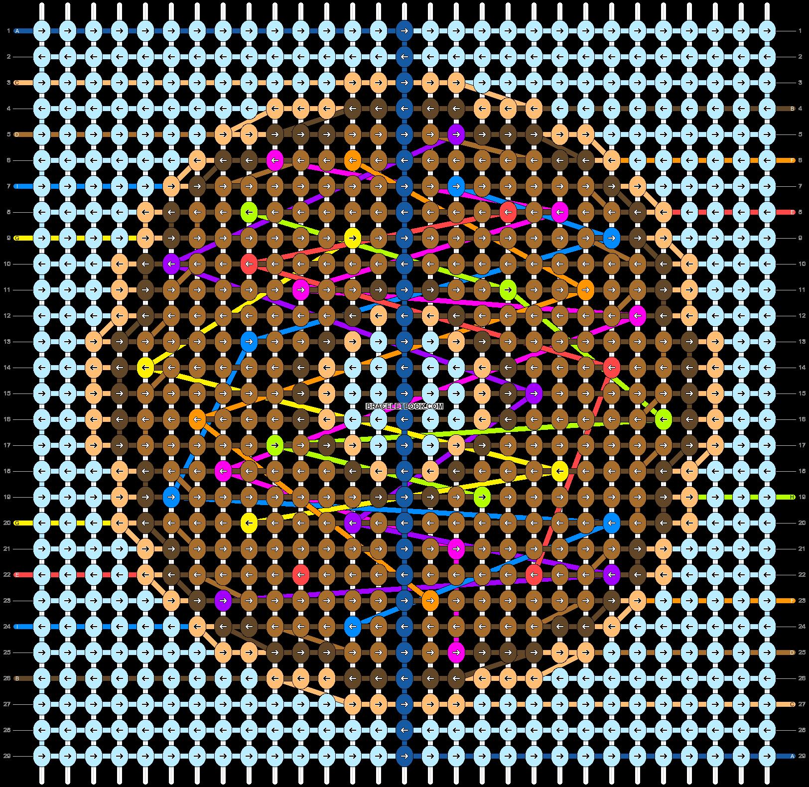 Alpha pattern #95288 pattern