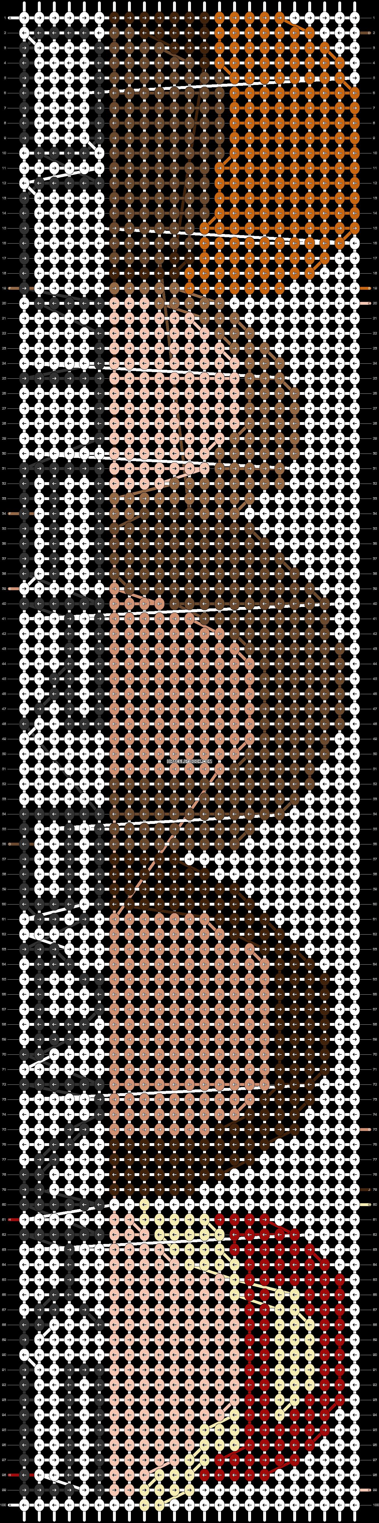 Alpha pattern #95291 pattern