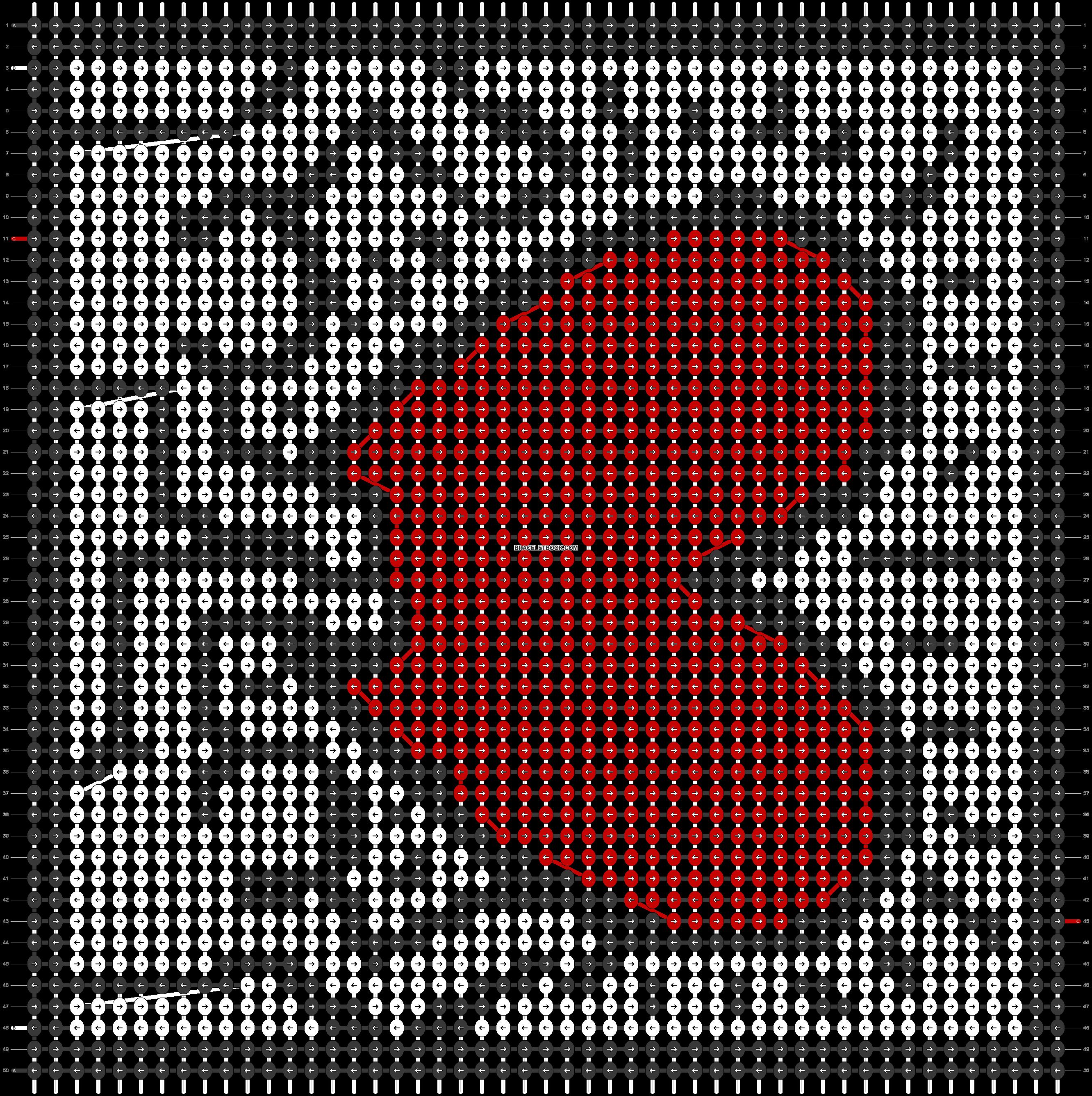 Alpha pattern #95320 pattern