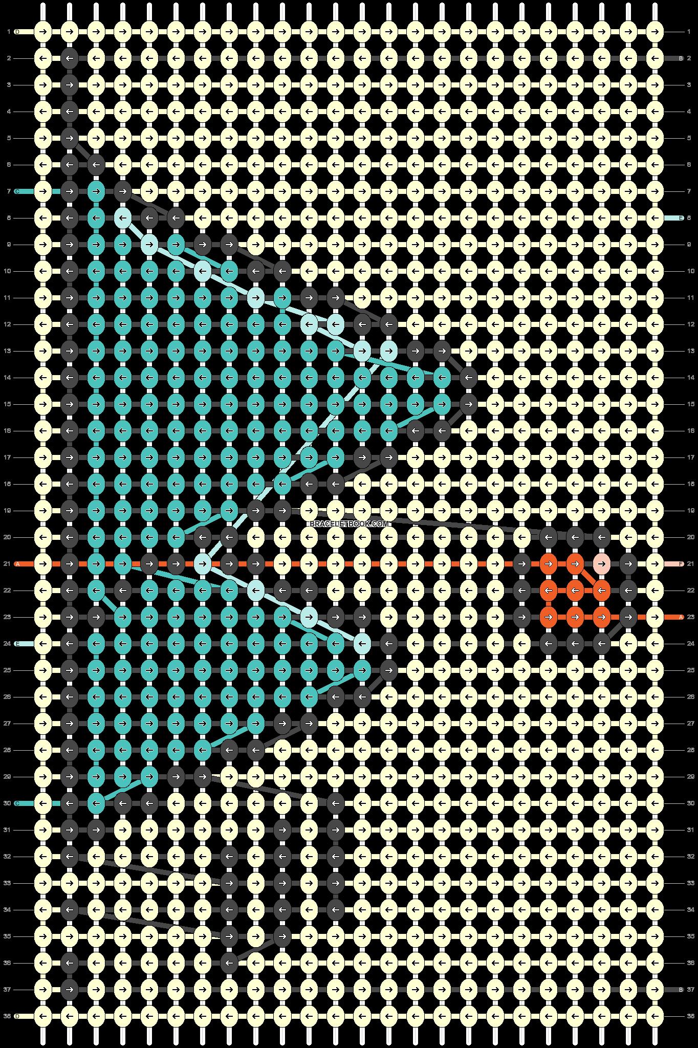 Alpha pattern #95323 pattern