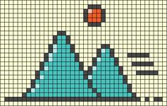 Alpha pattern #95323