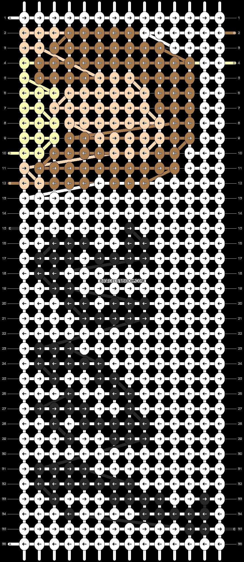 Alpha pattern #95435 pattern