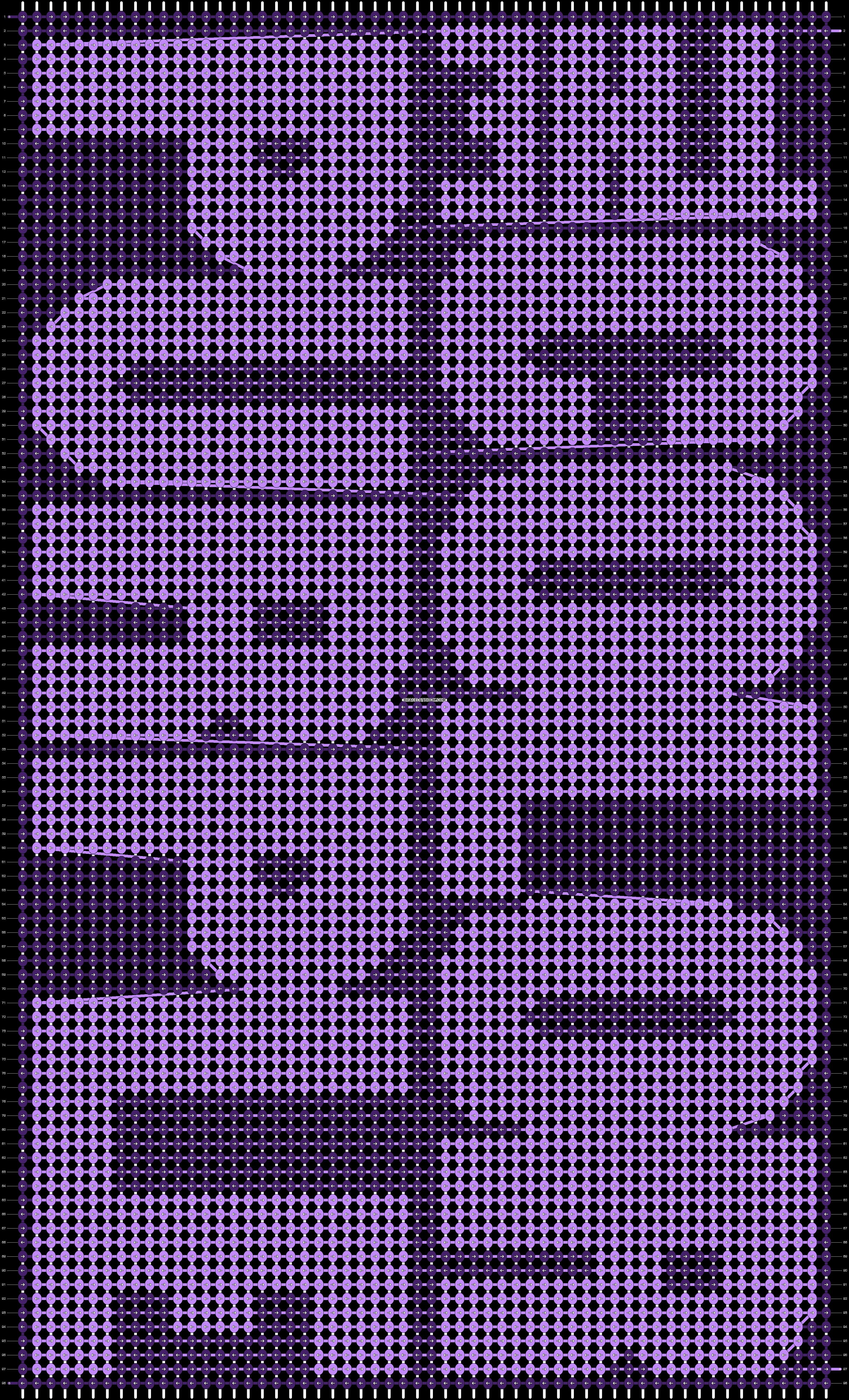 Alpha pattern #95437 pattern