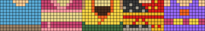 Alpha pattern #95441