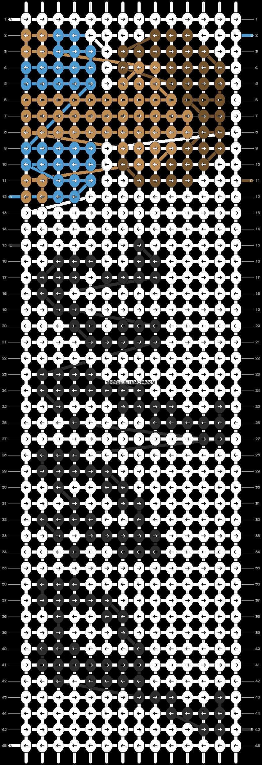 Alpha pattern #95486 pattern