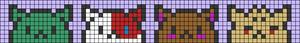 Alpha pattern #95523