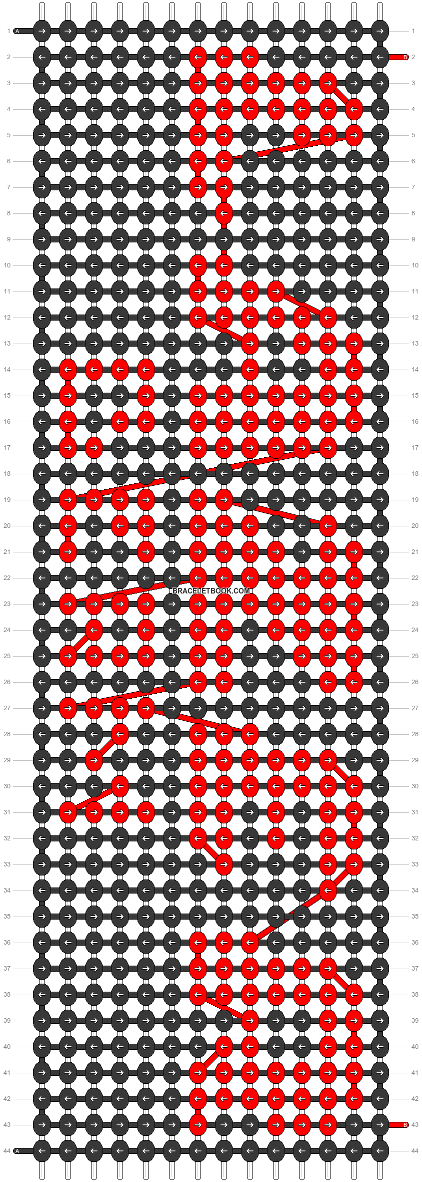 Alpha pattern #95536 pattern