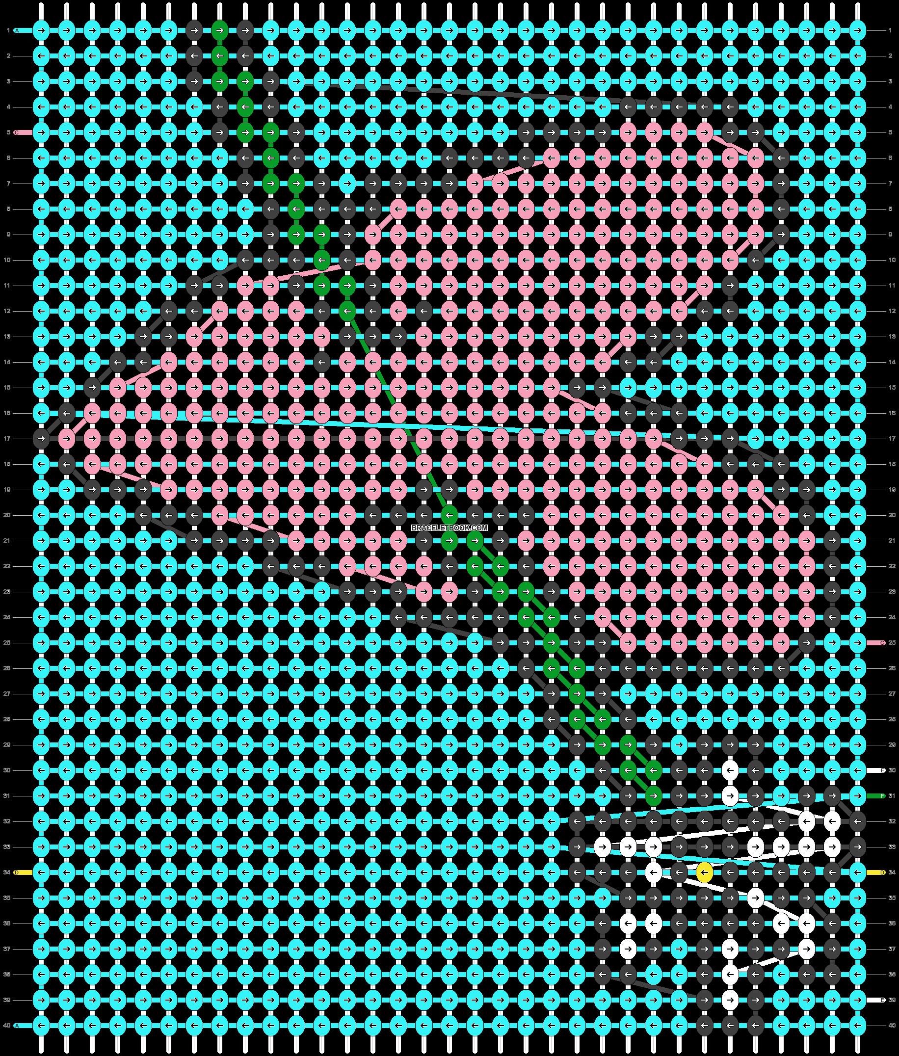 Alpha pattern #95588 pattern