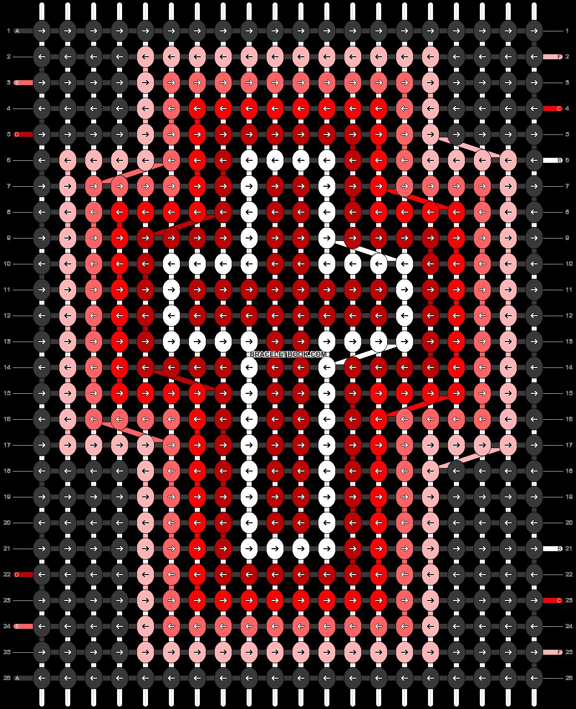 Alpha pattern #95692 pattern