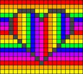 Alpha pattern #95696
