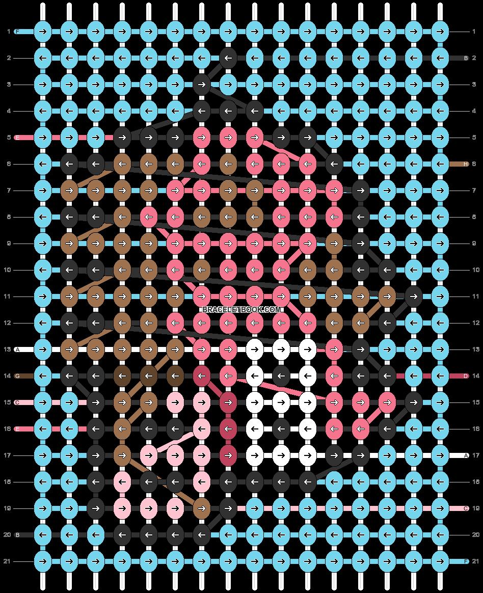 Alpha pattern #95714 pattern