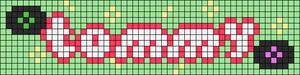 Alpha pattern #95745