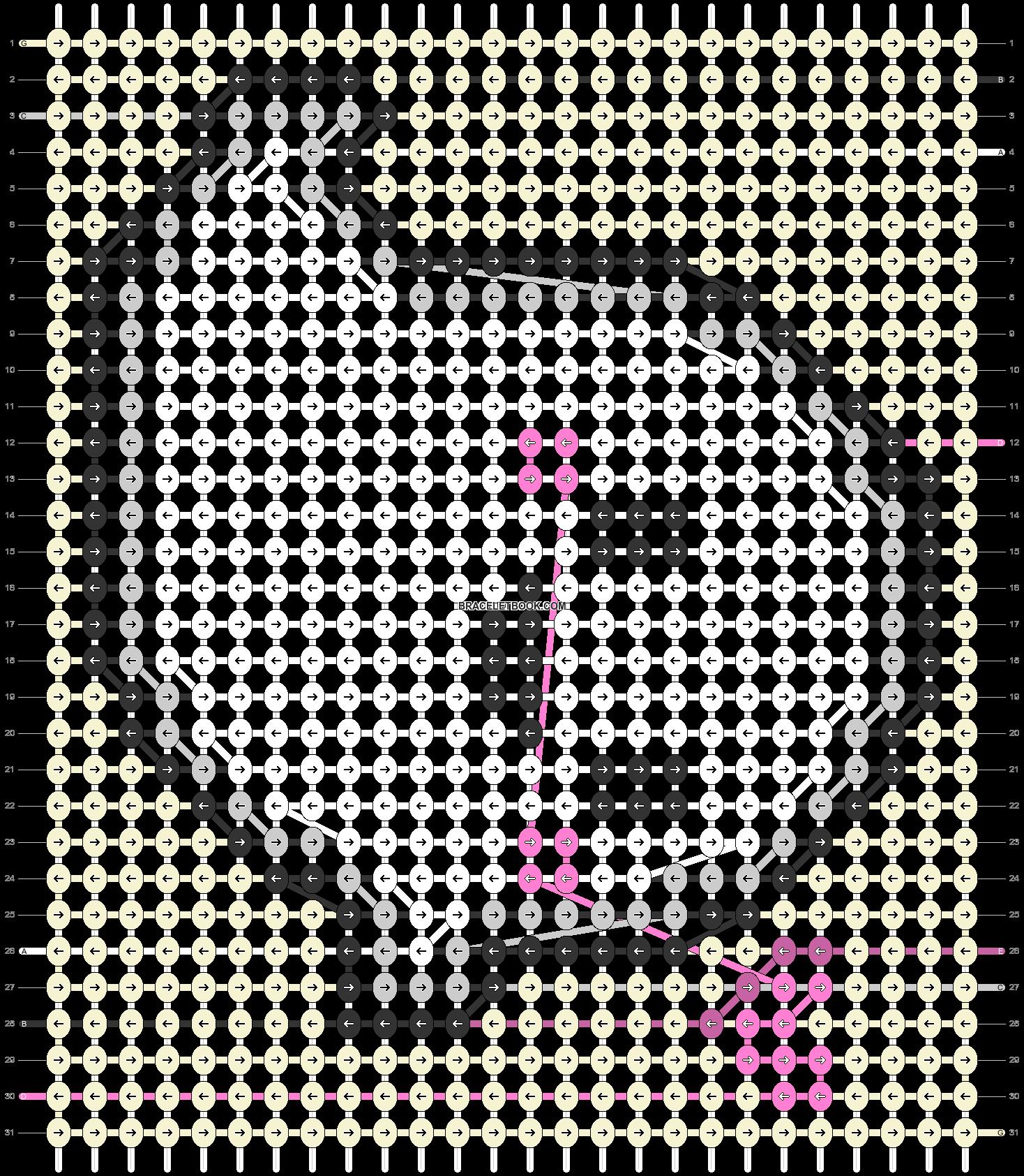 Alpha pattern #95755 pattern